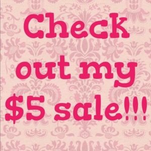 🌸🌸 $5 SALE! 🌸🌸 ALL ITEMS MARKED WITH 🌸🌸